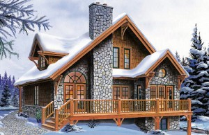 """Проект дома """"Морозное утро"""" 185 кв.м."""